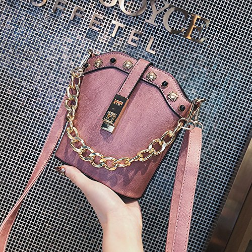Bags Women's Gunaindmx Bags Tote Handbags Crossbody Brown Bags Pink Crossbody Bags Shoulder Shoulder Bags wwZxa