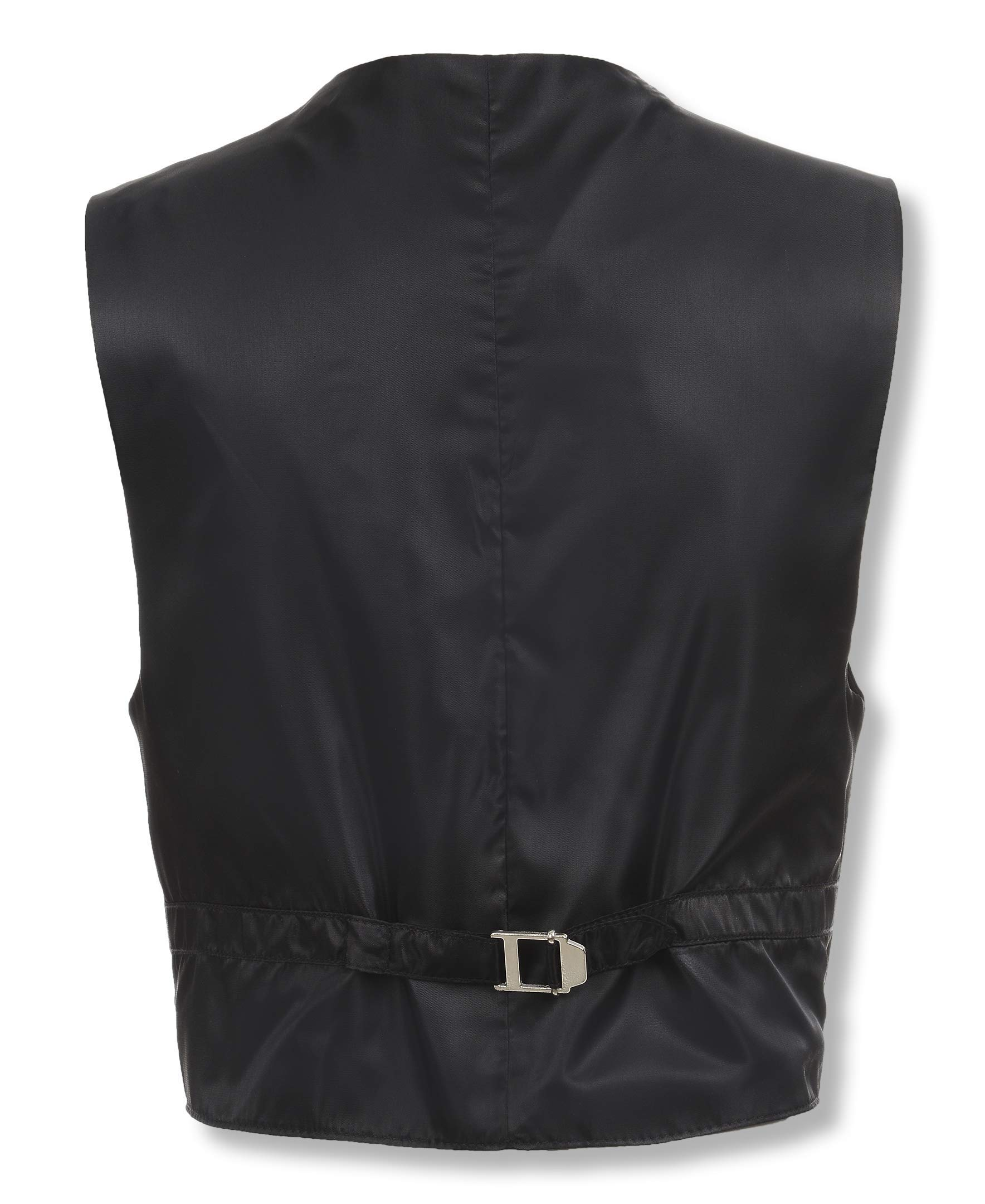 Calvin Klein Dress Up Big Boys' Bi-Stretch Vest, Black, Small by Calvin Klein (Image #3)