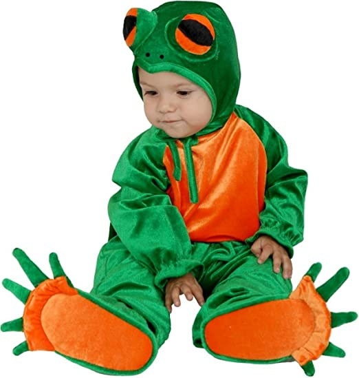 Charades Costume-Little Frog-6-18 Months  sc 1 st  Amazon.com & Amazon.com: Little Frog Newborn / Infant Costume: Toys u0026 Games