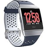 Fitbit フィットビット スマートウォッチ iONIC adidasエディション 心拍 睡眠 パーソナルコーチ GPS搭載 耐水性能 Ink Blue & Ice Gray インクブルー&アイスグレー L/Sサイズ【日本正規品】FB503WTNV-CJK FB503WTNV-CJK
