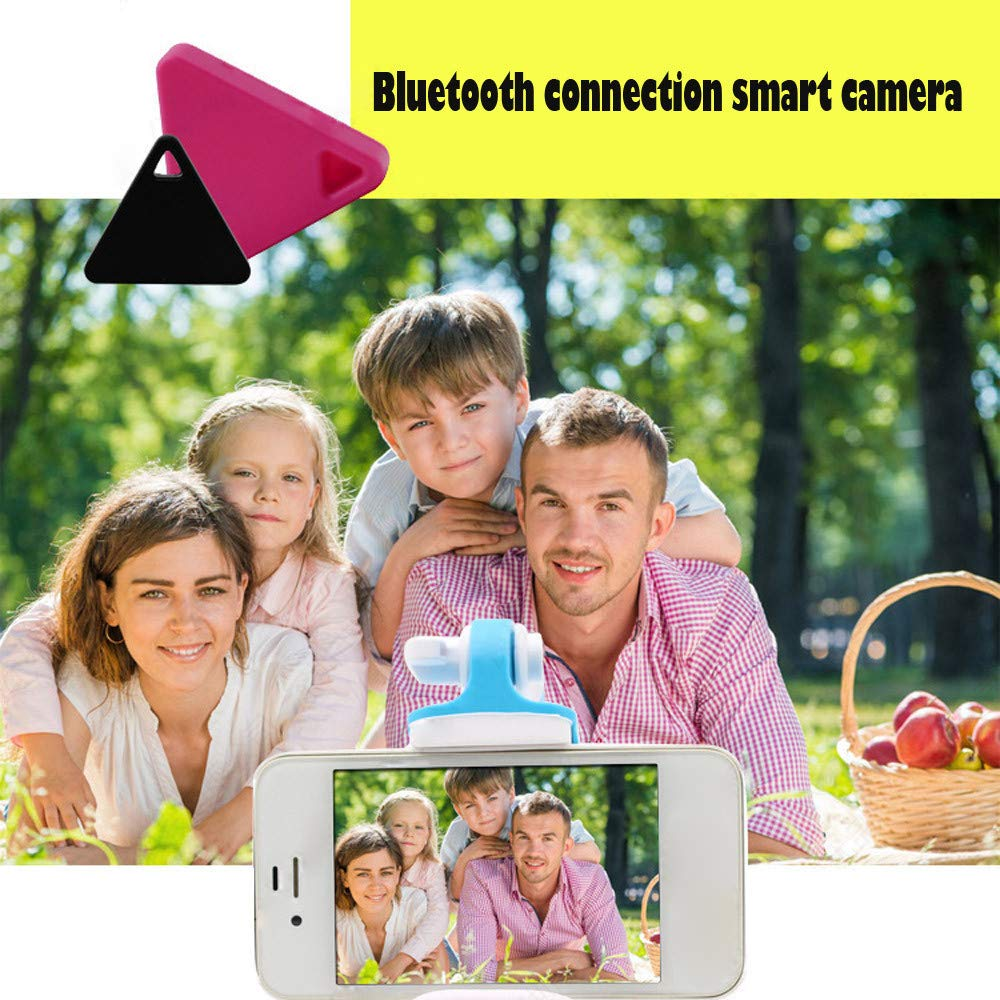 Sagton Car Motor GPS Tracker Kids Pets Wallet Keys Alarm Locator Realtime Finder Device (Pink)