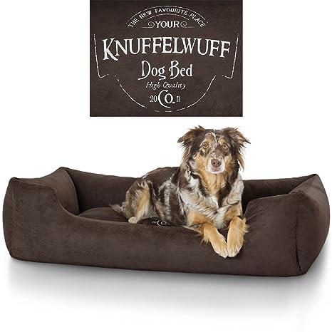 Knuffelwuff Cama para perros Liam 13968 con motivo vintage