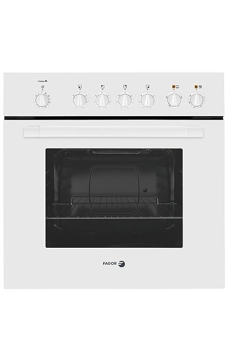 Fagor 6H-413AB - Horno (1000 W, Eléctrico, 1000 W, 230 V, 50 Hz, 16 A) Color blanco: Amazon.es: Hogar