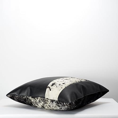 Super Amazon Com Capra Leather Cushion For Men 20 Black Outdoor Ibusinesslaw Wood Chair Design Ideas Ibusinesslaworg