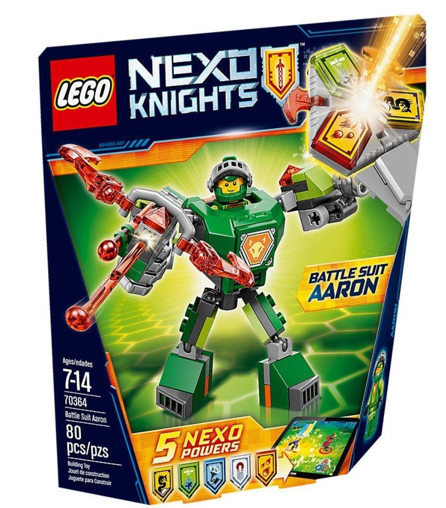 Nexo Knights Aaron con armadura de combate LEGO