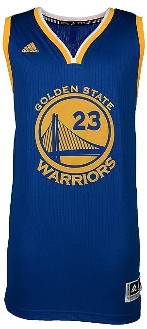 a9056a11da7 Amazon.com  Draymond Green Golden State Warriors Autographed Blue Swingman  Jersey with 15 NBA Champs Inscription -- Witness - JSA Certified  Sports ...