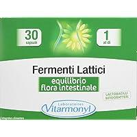 Vitarmonyl FERMENTI LATTICI ● Integratore 30 capsule ● Equilibrio della flora Intestinale ● Registrato Ministero Salute Italiano