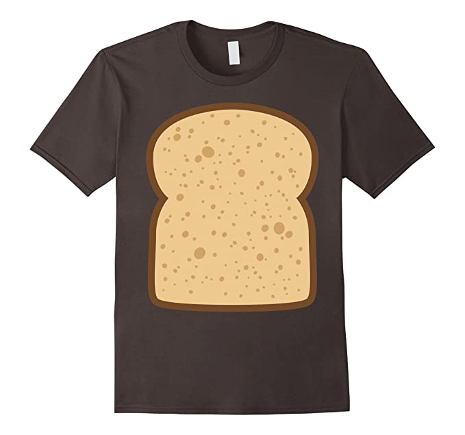 mens sliced bread toast matching shirts diy halloween costume 2xl asphalt