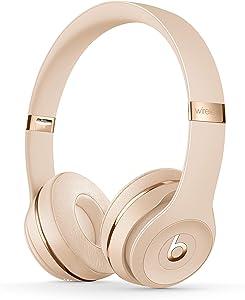 Beats Solo3 Wireless On-Ear Headphones - Satin Gold (Renewed)