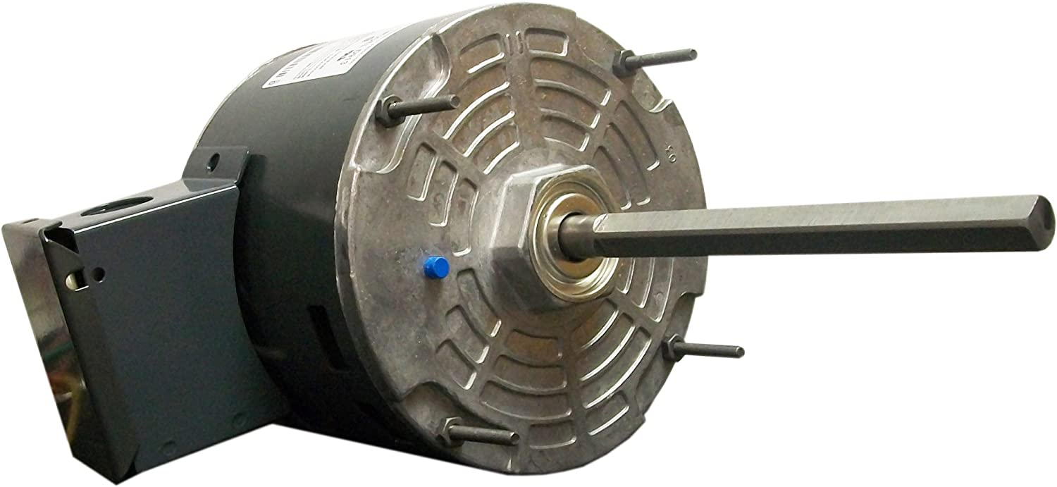 Fasco D913 5.6-Inch Condenser Fan Motor, 1/4 HP, 460 Volts, 1075 RPM, 1 Speed, 1.1 Amps, OAO Enclosure, Reversible Rotation, Ball Bearing