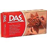 DAS 387100 - Pasta para modelar, 500g, color rojo terracota