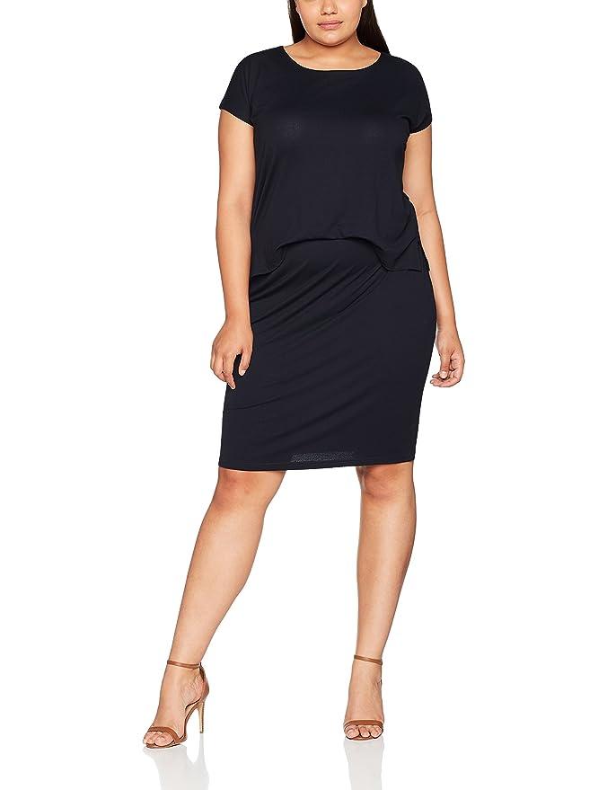 Womens Kleid Mit Angesetztem Rock Dress Ulla Popken Best Store To Get Cheap Price Fast Shipping fpQh08