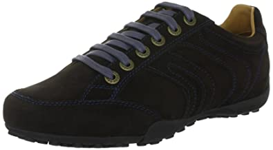 Geox Uomo Snake Z, Baskets mode homme - Marron (C6009), 39 EU