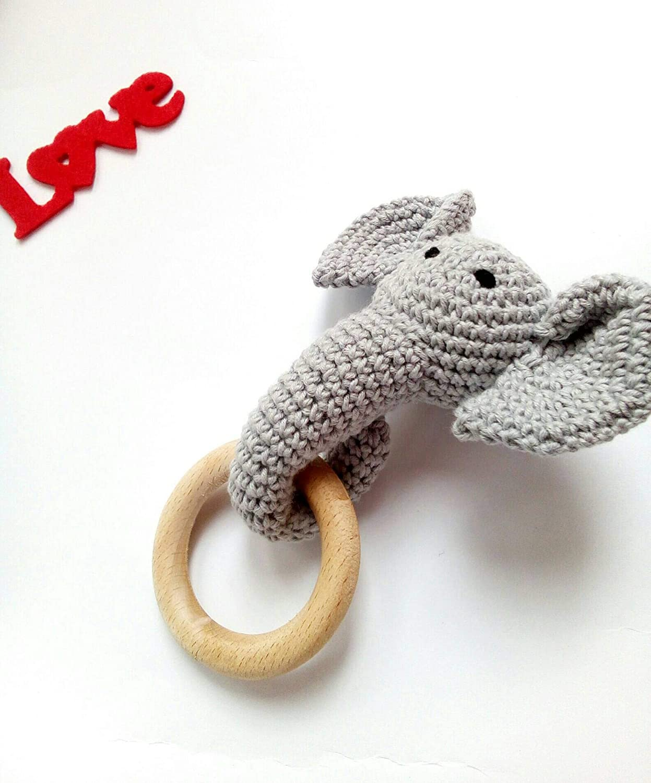Amazon.com: Crochet Newborn Elephant Outfit, Newborn Photo Props ... | 1500x1247