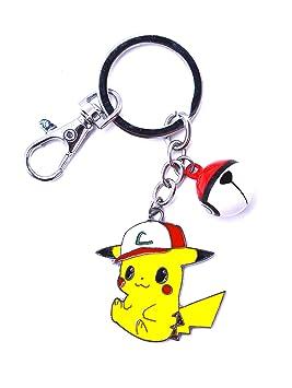 Anime Domain Llavero de Pokémon con Figura de Pikachu (C ...