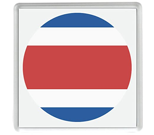 Marca para Costa Rica Emoji 58mm x 58mm Nevera Imán/Flag for Costa ...