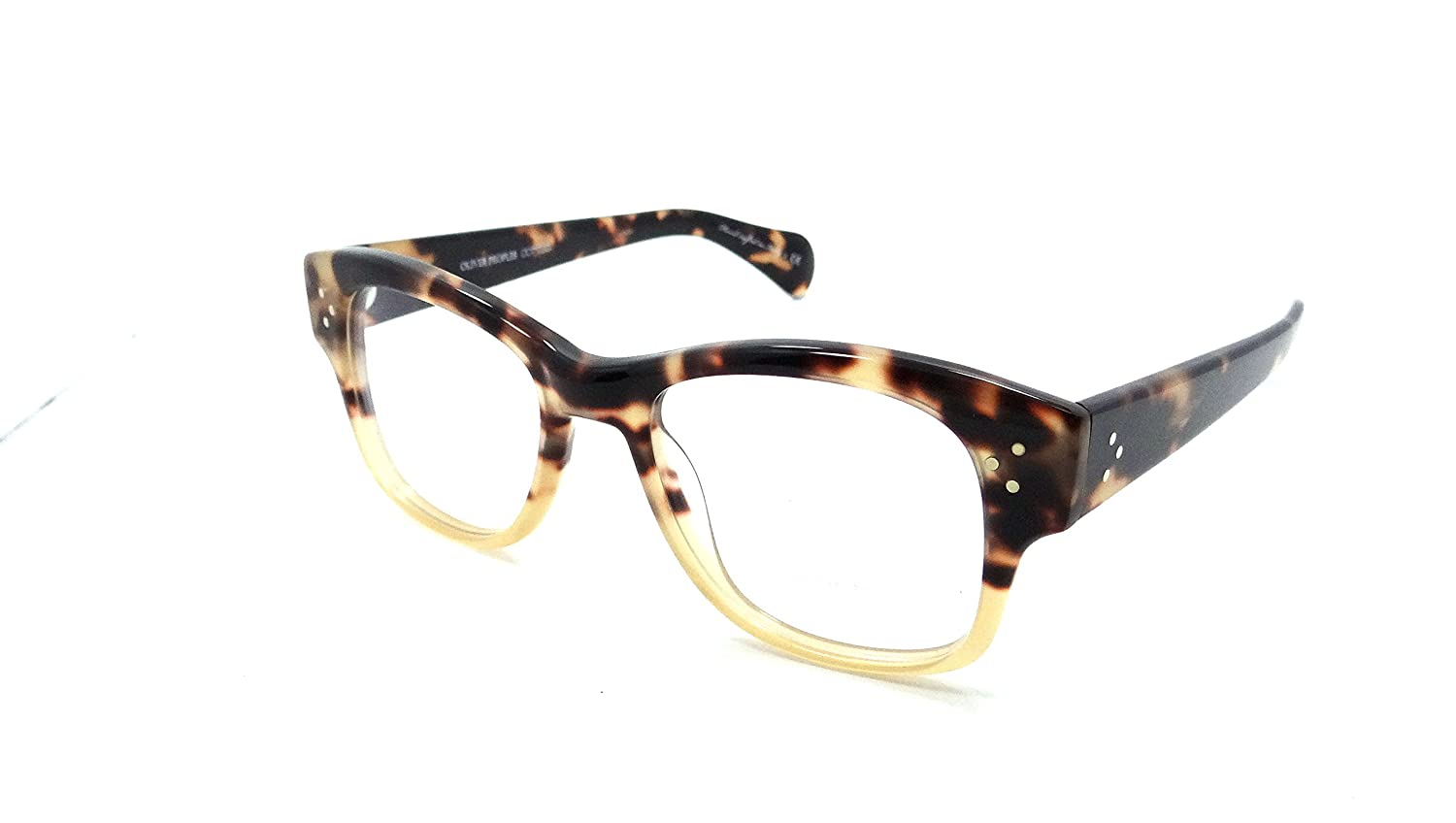 33a0e9762ee5e2 Amazon.com: Oliver Peoples Rx Eyeglasses Frames Jannsson 51x19 Tortoise  Gradient Italy: Clothing
