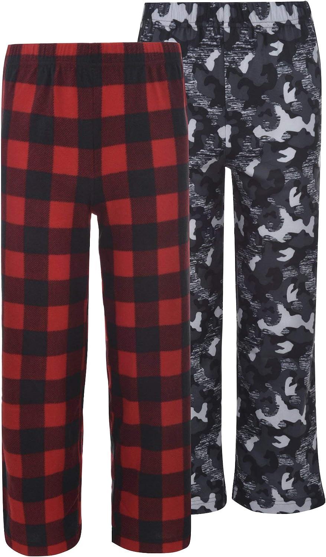 Hanes Boys 2-Pack Patterned Sleep Pant