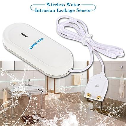 owsoo 433 MHz Wireless Detector del Sensor de pérdida de intrusión de Agua para Sistema de