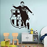 Barcelona FC Wall Sticker Nou Camp Logo Art Football Great Gift REMOVABLE