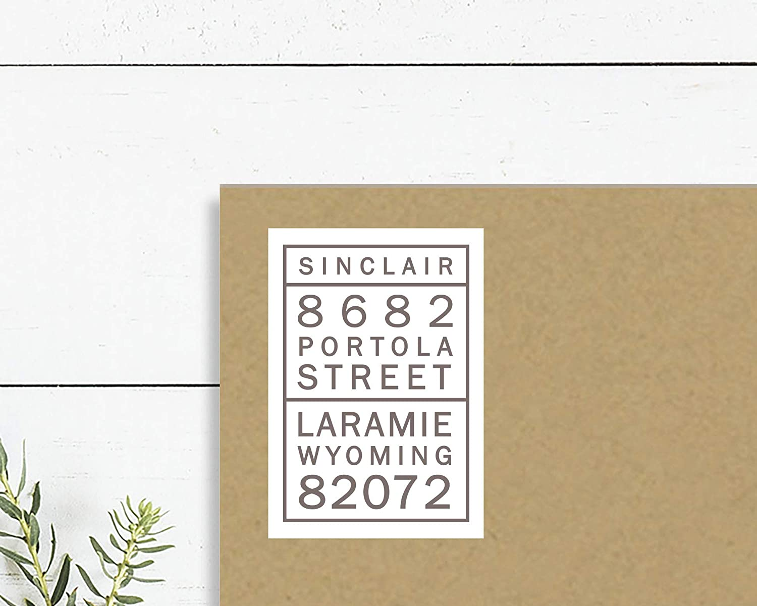 Amazon com modern address stickers return address labels