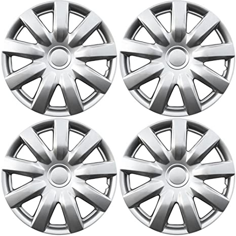 15 inch Hubcaps Best for 2004-2006 Toyota Camry - (Set of 4)