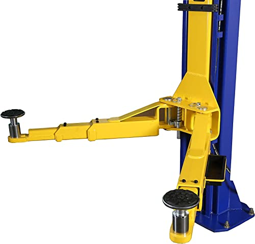 APlusLift HW-10KBP 10,000LB Two Post Floor Plate Auto Hoist Car Lift