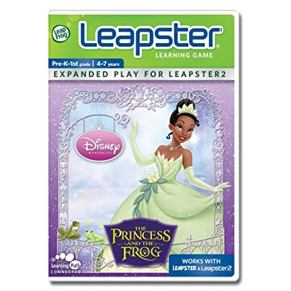 Leapster 2 princess and the frog game poker chips casino