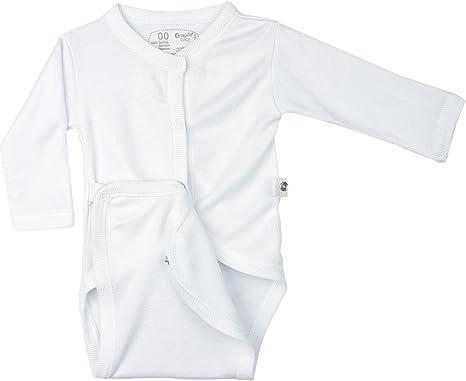 Body bebé abierto especial recién nacido 100% fibra Bambú- RAPIFE 100% fabricado en España: Amazon.es: Bebé