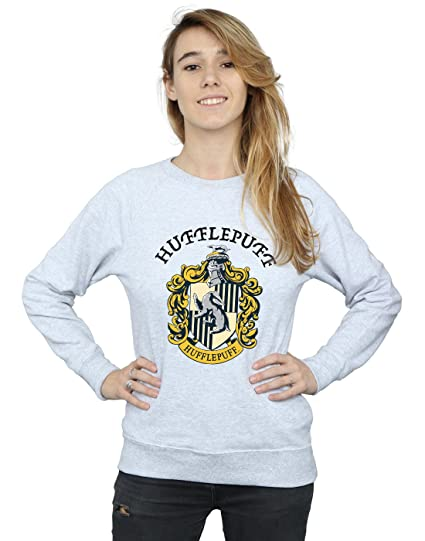 Harry Potter Damen Hufflepuff Crest Sweatshirt