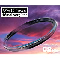 Polfilter POL 62 circular slim XMC Digital Weil Design Germany SYOOP * Kräftigere Farben * mit Frontgewinde, * 16 fach XMC vergütet * inkl. Filterbox * zirkulare ( 62mm )