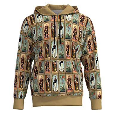 6e6463ba EightyThree XYZ Haunted Mansion Stretched Paintings Women Pullover Hoodie  Sweatshirt - XS