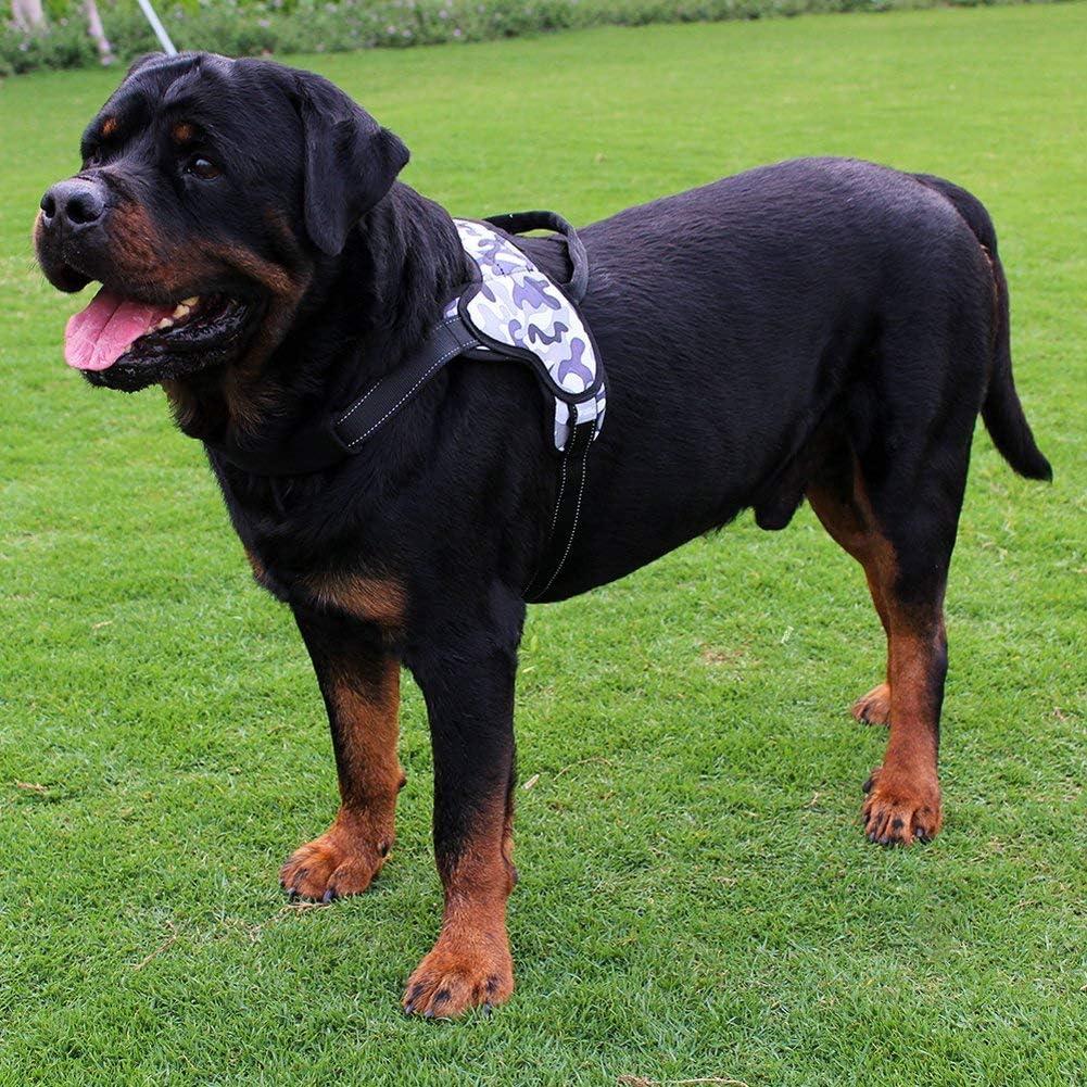 Hadishi Arnés para Perros, Revestimiento Impermeable 3 Patrones de ...