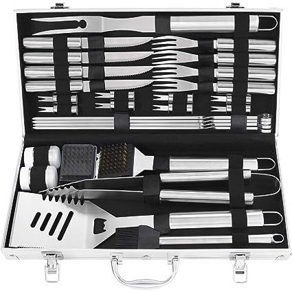 Amazon.com: grilljoy - Juego de herramientas para barbacoa ...