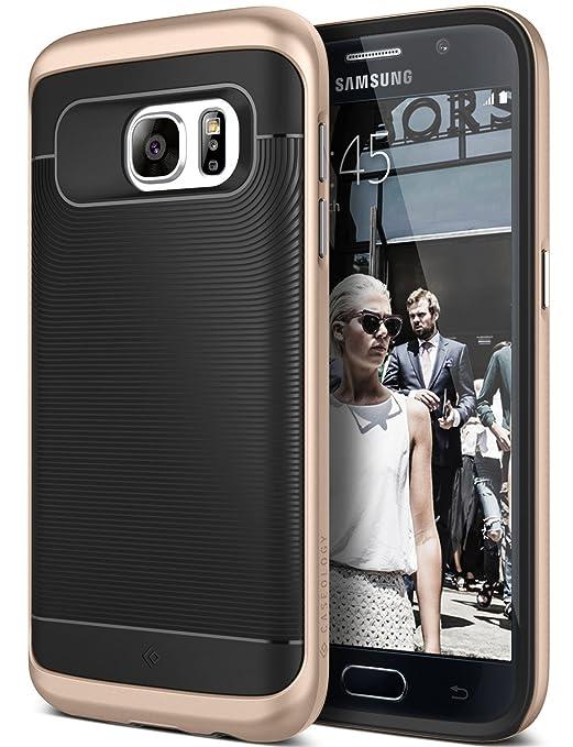 5 opinioni per Custodia Galaxy S7, Caseology [Serie Wavelength] Cover, Sottile Protezione a