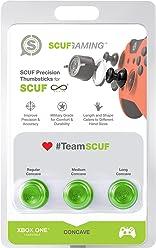 SCUF Precision CONCAVE GREEN Thumbsticks