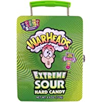 Warheads Extreme Sour Hard Candy Novelty Lunch Box Tin