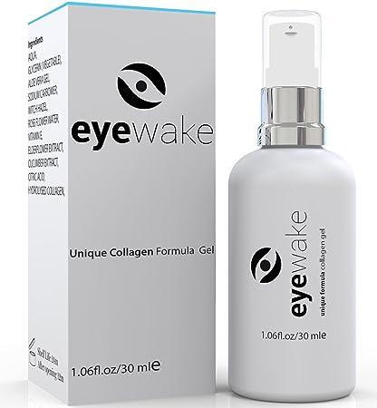 EYEWAKE Skincare - Suero hidratante para ojos hinchados, ojeras, bolsas de ojos, patas