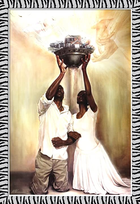 Amazon.com: Give It All To God By WAK Kevin A. Williams 24x36 Black ...