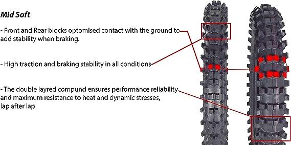 Amazon.com: Pirelli Scorpion MX32 - Neumático para moto de ...
