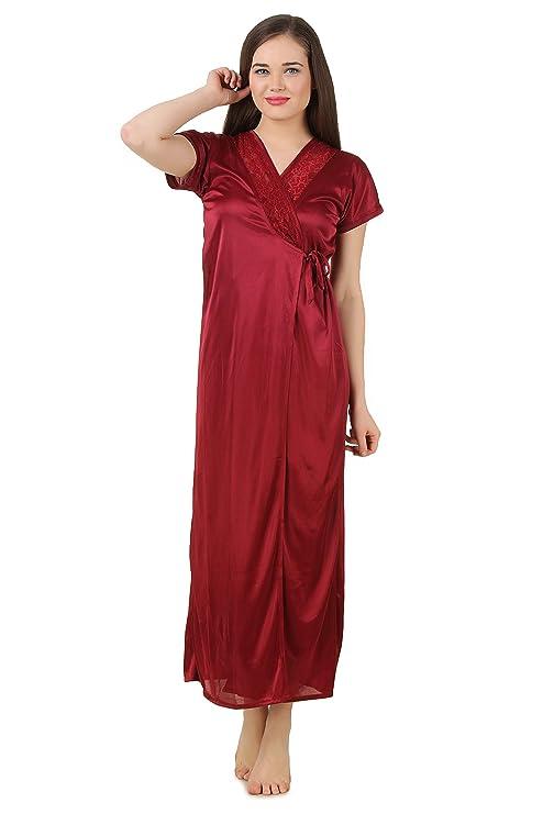 Fasense Women s 6-Piece Nightdress Set  Amazon.in  Clothing   Accessories 3b06e5bdc