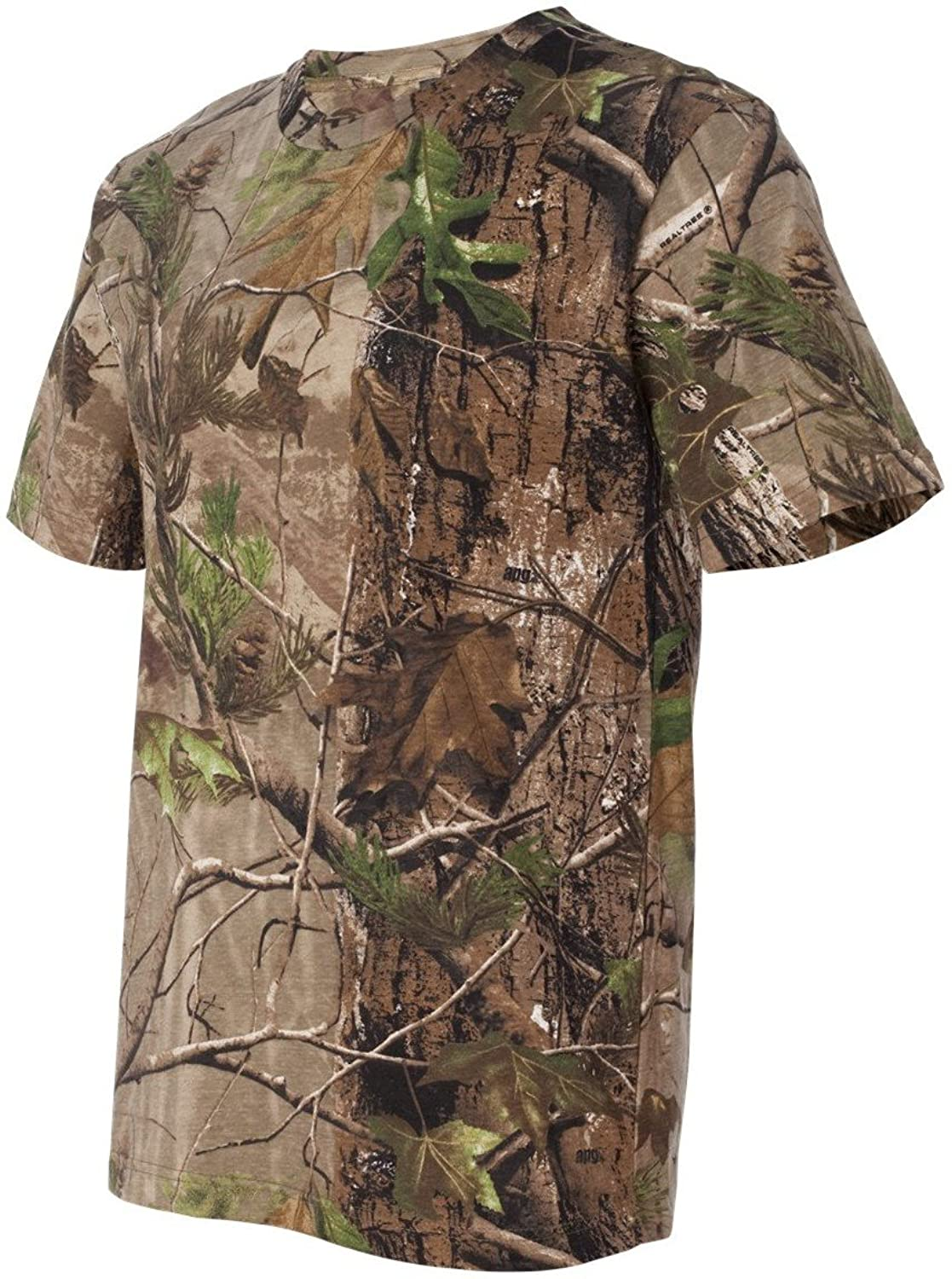Code V 3980 Licensed Realtree Camouflage S-Sleeve T-Shirt