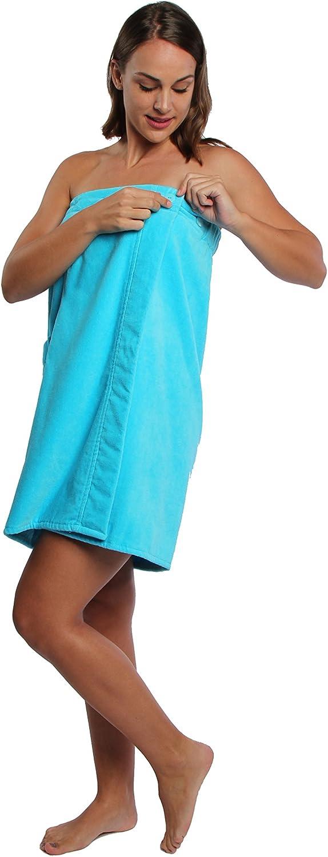 TurkishTowels Parador SPA Velour Towel Wrap