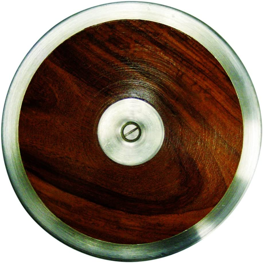 Amber Athletic Gear Discus Club Wooden Training Brown