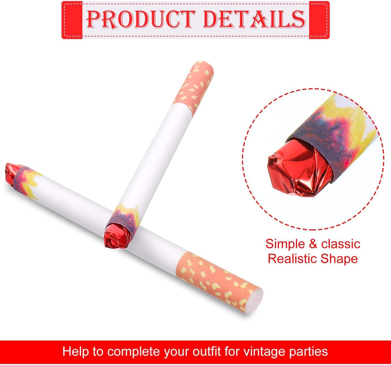 Packung mit 2 lustige gefälschte Rauch Zigaretten Witz Streich Gag Geschenk