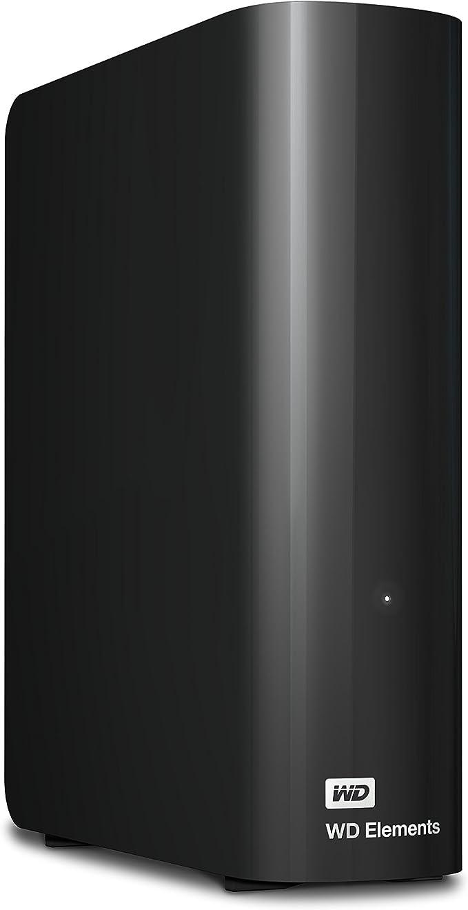 Amazon.com: WD 12TB Elements Desktop Hard Drive, USB 3.0 - WDBWLG0120HBK-NESN: Computers & Accessories