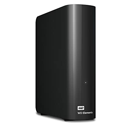 WD 10TB Elements Desktop Hard Drive - USB 3 0 - WDBWLG0100HBK-NESN