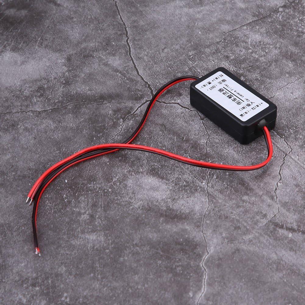 12V DC Auto R/ückfahrkamera Leistungsrelais Kondensator Filter Gleichrichter Relais Filter Gleichrichter