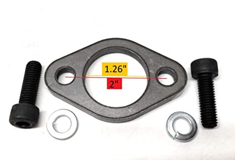 Flange for Predator 301, 420, GX Honda 270 & 390 And other clones