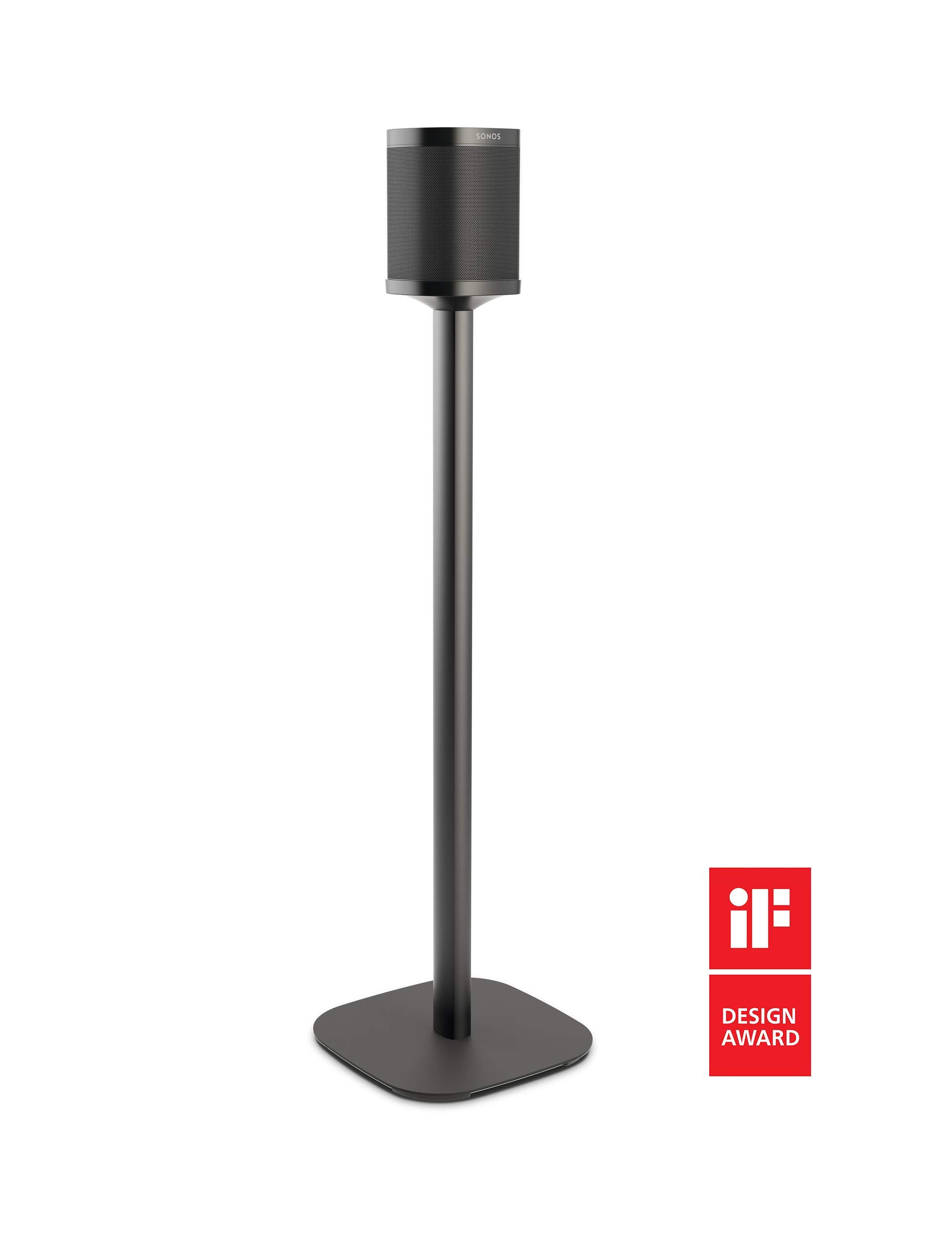 Vogel's Sound 4301 Speaker Stand for Sonos One & Play:1, Black 8153020 by Vogel's